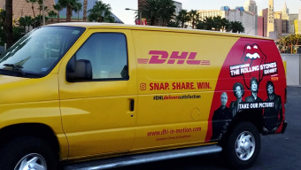 Like our van, tag a friend and you could win two tickets to The Rolling Stones exhibit in Vegas