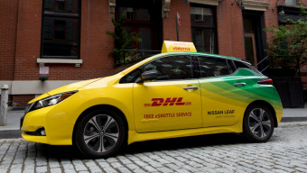DHL is offering New Yorkers Free Zero-Emission Rides