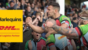 DHL & Harlequins Take Partnership to New Heights