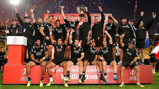All Blacks Sevens roar back to win Wellington 7s