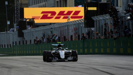 DHL Fastest Lap Award: 2016 FORMULA 1 GRAND PRIX OF EUROPE