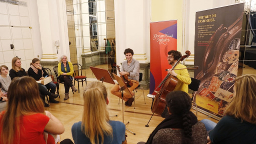 Gewandhausorchester brings classical music closer to students in Frankfurt