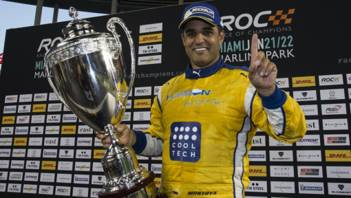 Montoya and Vettel triumph in Race Of Champions