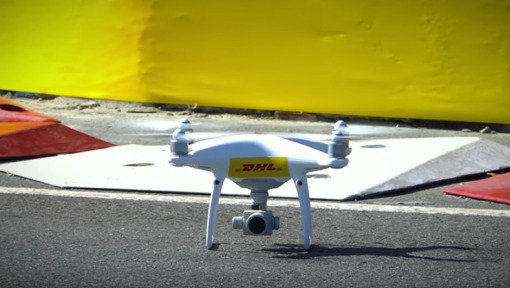 DHL CamCopter celebrates its successful debut in Buenos Aires