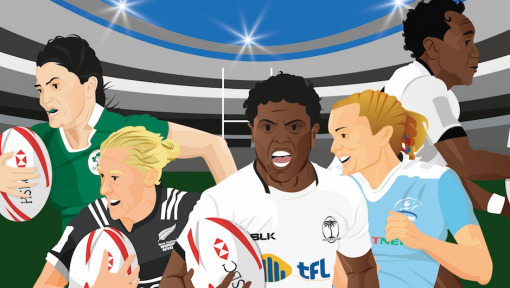 Women's Rugby Sevens – a halftime report