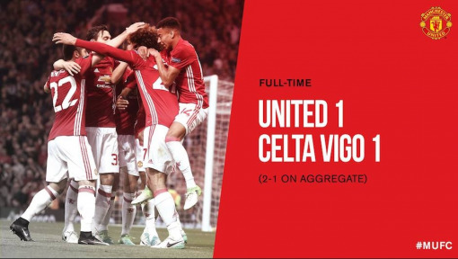 "Manchester United survive ""crazy game"" to reach UEFA Europa League final"