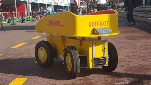 DHL EffiBOT: The new star in the Formula E pit lane