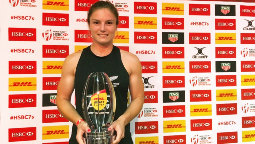 New Zealand's Michaela Blyde wins DHL Impact Player Award