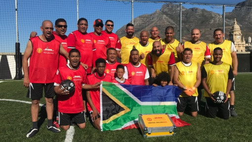 UNITED. DELIVERED.: EPIC DAY IN CAPE TOWN