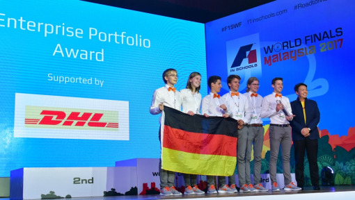 """F1 in Schools"": DHL supports international technology competition for students"