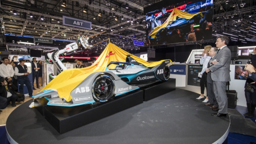 Covers come off the next generation Formula E car