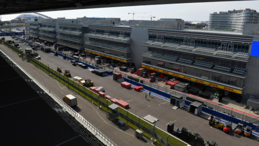 Formula 1 Logistics: From Russia to Japan in 72 hours