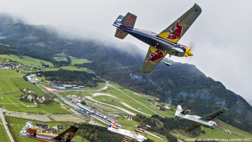 Red Bull Air Race goes down to the wire in Austria