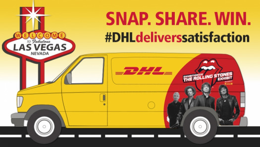 Snap our van and you could win two tickets to the rolling stones exhibit in Vegas