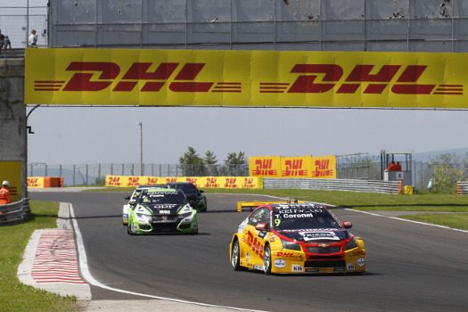 DHL and WTCR: A great partnership