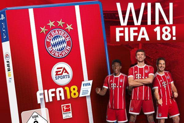 Win one of ten FIFA 18 games