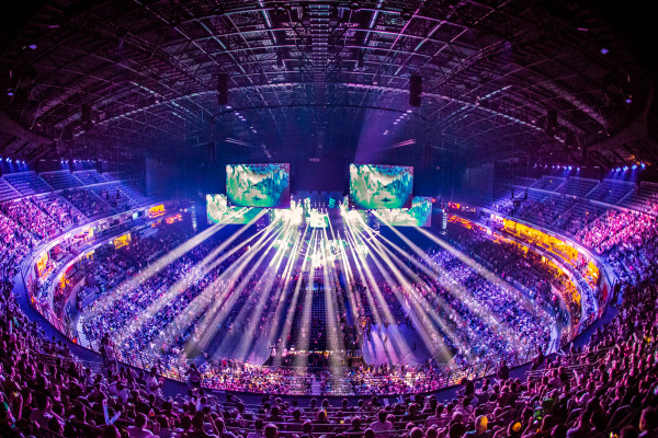 DHL delivers ESL One around the world